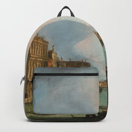 Canaletto Bernardo Bellotto - The Grand Canal In Venice Backpack