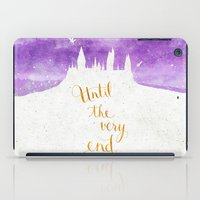 snape iPad Cases featuring Until the very end by Earthlightened