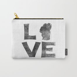 LOVE Tahoe inked Carry-All Pouch