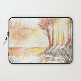 Watercolor Landscape 03 Laptop Sleeve