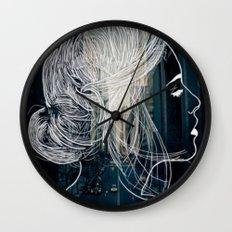 The woman who never sleep Wall Clock