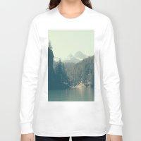 diablo Long Sleeve T-shirts featuring The departure - Diablo Lake by jordanwlee.com