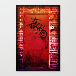 Teach NYC Canvas Print