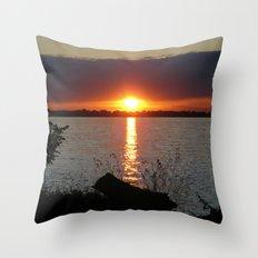 Sunset Brilliance Throw Pillow