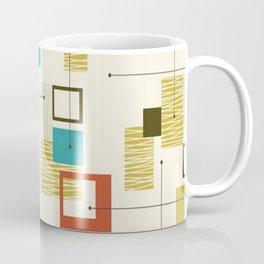 Mid Century Modern, Sputnik Pattern Coffee Mug