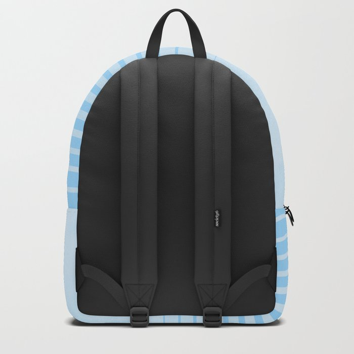 Sweet Life Collection Gradient Blue Raspberry Backpack
