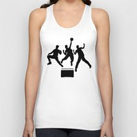 beastie boys Tank Tops featuring #TheJumpmanSeries, Beastie Boys by @thepeteyrich