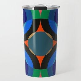 Retro Circles 04 Travel Mug