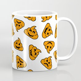 halloween poo emoji Coffee Mug
