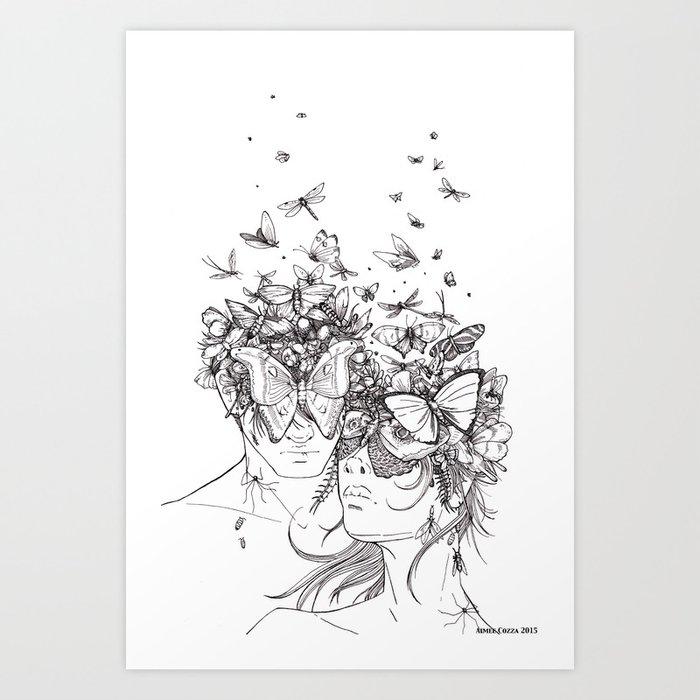 Decomposition Art Print