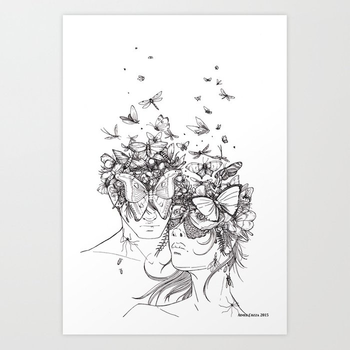 Decomposition Art Print