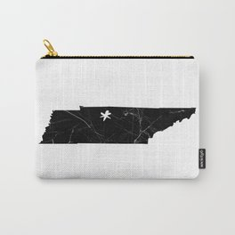 Black Marble Tennessee - Nashville Carry-All Pouch