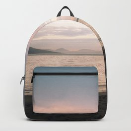 Coles Bay Sunset Seagull Backpack