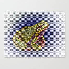The InFocus Happy Frog Collection IV Canvas Print
