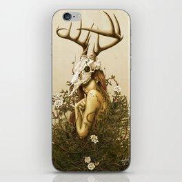 Deer secret. iPhone Skin