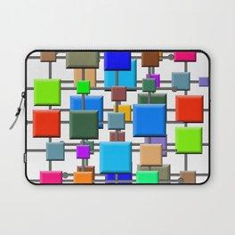 Midcentury Squares Laptop Sleeve