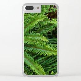 Shot in the Jungle Clear iPhone Case