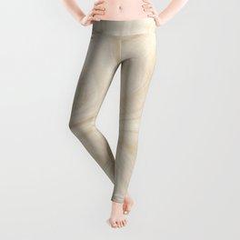 Gold Swirl Marble Leggings