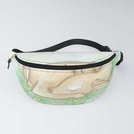 Sleeping fawn Fanny Pack