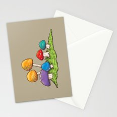 Mushrooms (Colors) Stationery Cards
