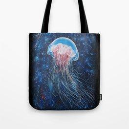 Space JellyFish Tote Bag