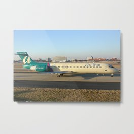 Air Tran Boeing 717 at ATL Metal Print