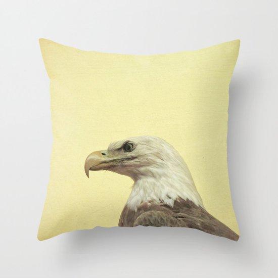 Eagle Eyed Throw Pillow