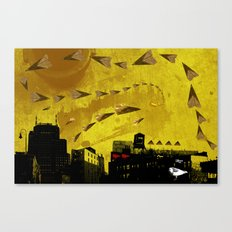 airplanes and cigarettes Canvas Print