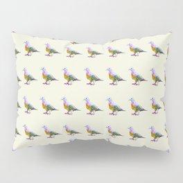 Fruit Dove Watercolour Pillow Sham