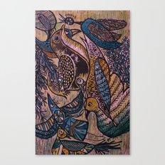 Birds (2) Canvas Print