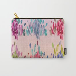 Watercolor Tulips Carry-All Pouch