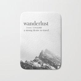 Wanderlust Bath Mat