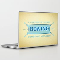 sport Laptop & iPad Skins featuring A Competitive Sport. by Rabassa