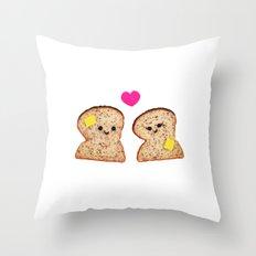 Toasty Love Throw Pillow