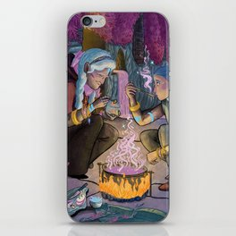 Talitha and Nihal iPhone Skin