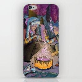 Talitha and Nihal iPhone Skin