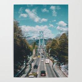 Lions Gate Bridge Poster