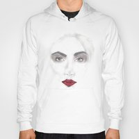 cara delevingne Hoodies featuring Cara Delevingne by Stephany Moreno