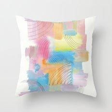 Improvisation 60 Throw Pillow