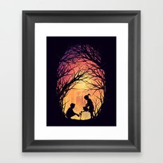 Reviving Nature Framed Art Print