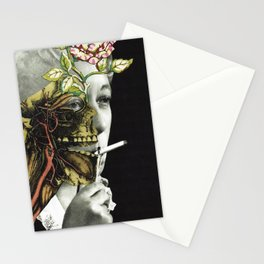 VERTICAL EXTENT Stationery Cards