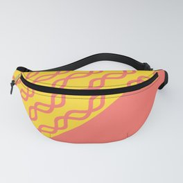 Coral Caliente Fanny Pack