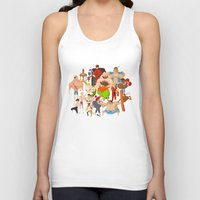 street fighter Tank Tops featuring Street Fighter by Peerro