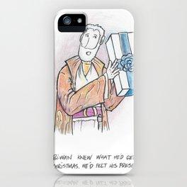 Obi-Wan Felt His Presents iPhone Case