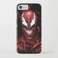 carnage iPhone & iPod Cases featuring Carnage by dariiy