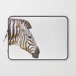 Zebra portrait Laptop Sleeve