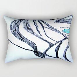 self confident Rectangular Pillow