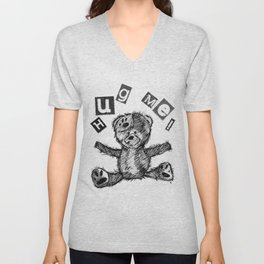 I Need A Bear Hug Unisex V-Neck