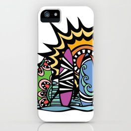 Stoked Surfboards iPhone Case