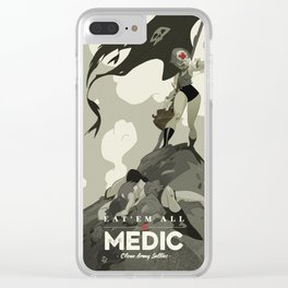 Medic Sally Clear iPhone Case